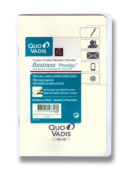 Diář Quo Vadis Prestige Business náhradní náplň 2017