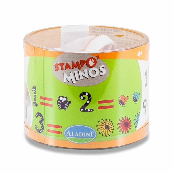 Razítka Aladine Stampo Minos - Číslice