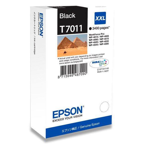 Cartridge Epson T701140 HC pro inkoustové tiskárny extra black (černá)