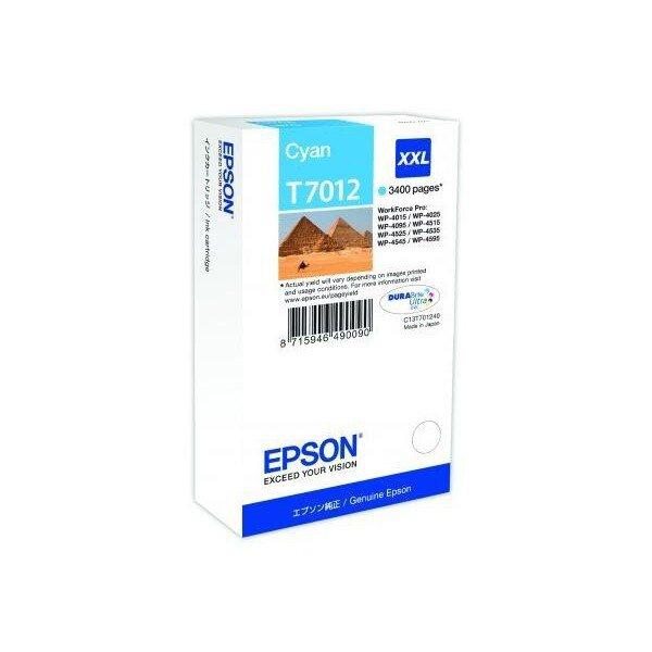 Toner Epson T701240 HC pro inkoustové tiskárny cyan (modrý)