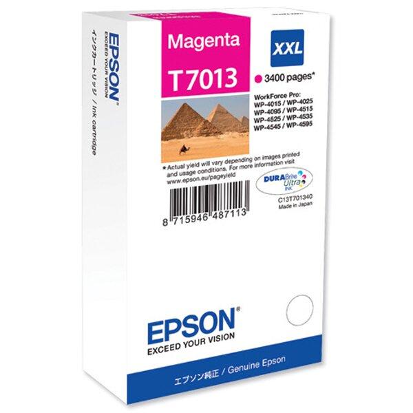 Cartridge Epson T701340 HC pro inkoustové tiskárny magenta (červená)