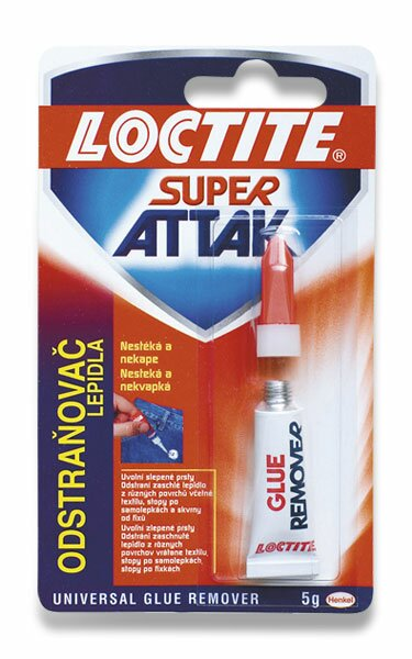 Odstraňovač lepidla Loctite Super Attak 5 g