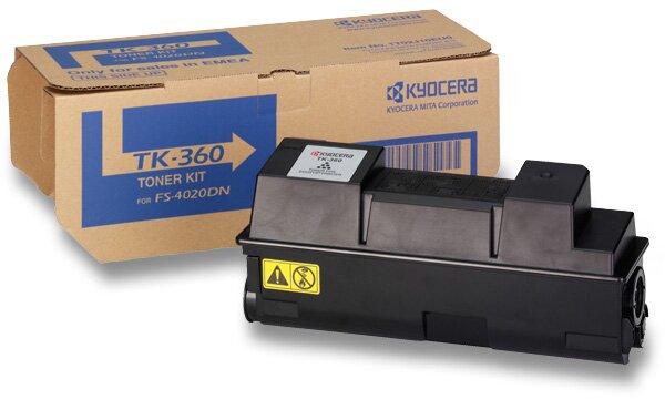 Toner Kyocera TK-360 pro laserové tiskárny black (černý)