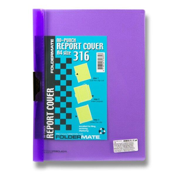 Rychlovazač FolderMate Pop Gear A4 fialový