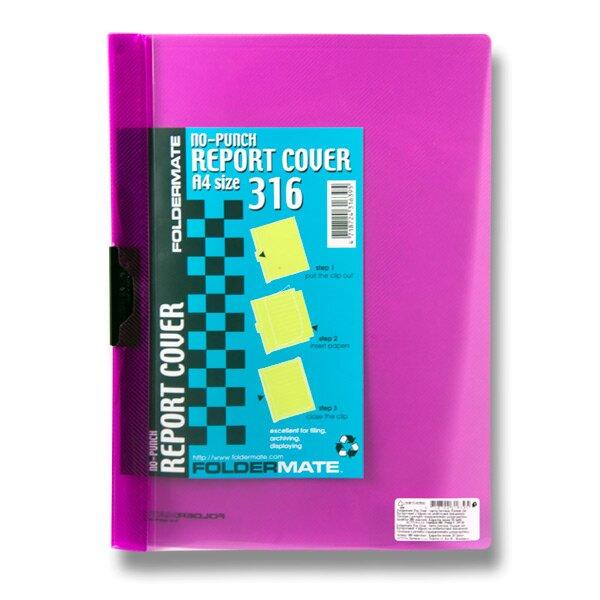Rychlovazač FolderMate Pop Gear A4 červený