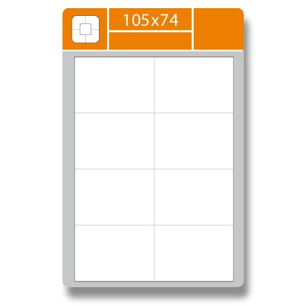 Samolepící etikety SK Label Gloss 105 × 74 mm