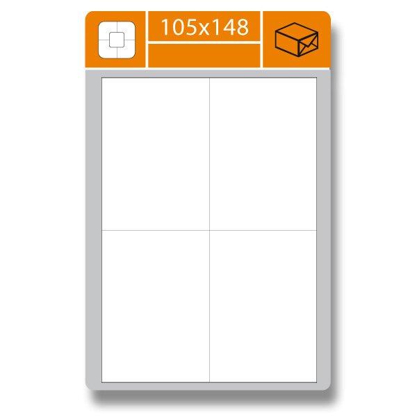 Samolepící etikety SK Label Gloss 105 × 148 mm