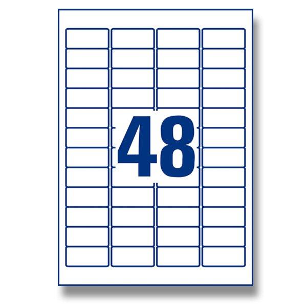 Ultra odolné etikety Avery Zweckform 45,7 × 21,2 mm