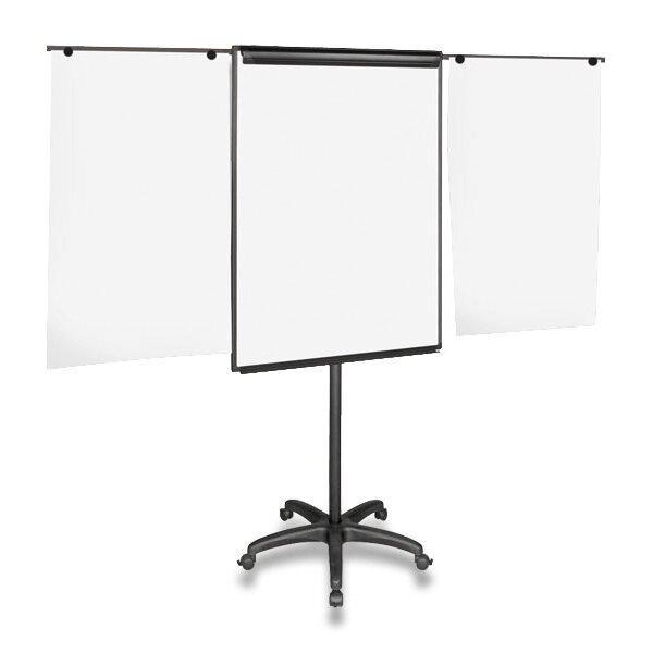 Flipchart Bi-Office magnetický, mobilní s výsuvnými rameny