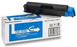 Toner Kyocera TK-590C pro laserové tiskárny