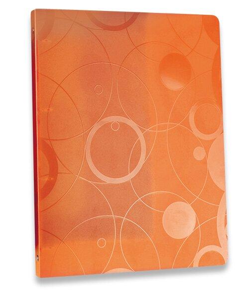 4kroužkový pořadač Neo Colori oranžový
