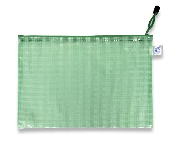 Plastová obálka zelená
