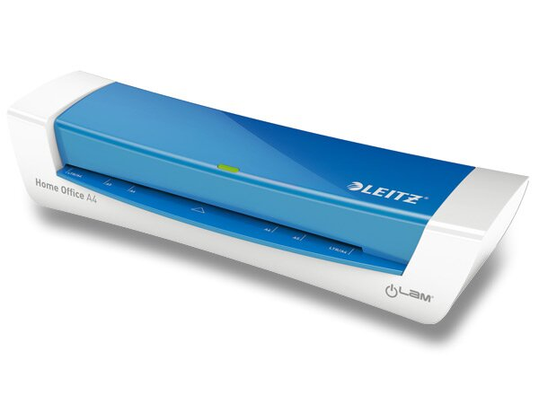 Stylový laminátor Leitz I-Lam Home Office modrý