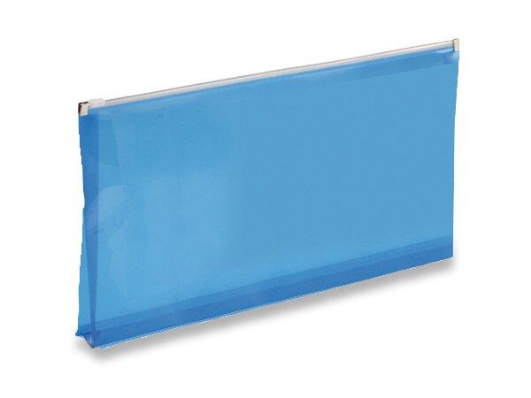 Plastová ZIP obálka modrá
