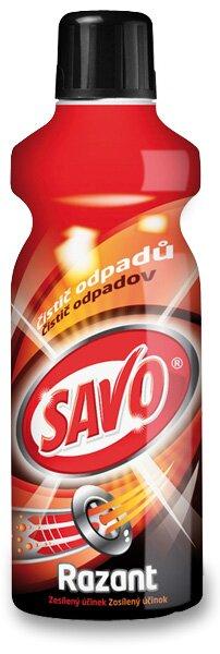Gelový čistič odpadů Savo Razant - 1 l 1 l