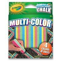 Křídy Crayola chodníkové vícebarevné