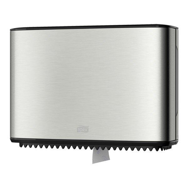 Zásobník na toaletní papír Tork Mini Image Design nerez, 254 x 355 x 133 mm