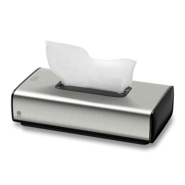Luxusní zásobník na papírové kapesníčky Tork Image Design nerez