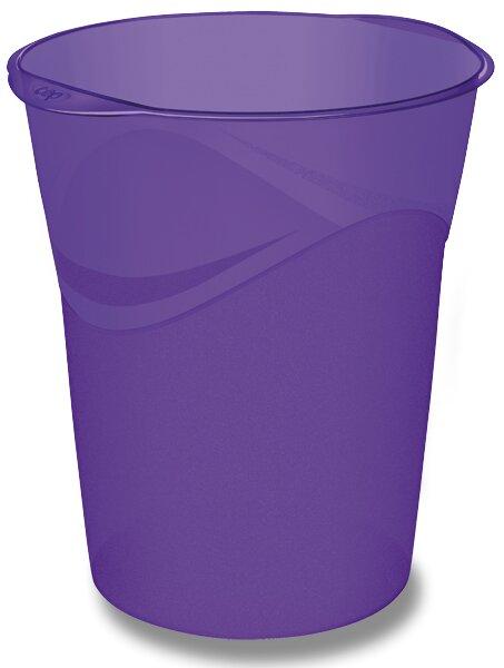 Odpadkový koš Cep Pro Happy fialový
