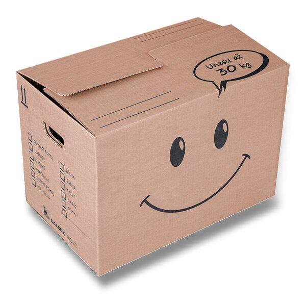 Krabice vhodná na stěhování 540 × 340 × 385 mm, 30 kg