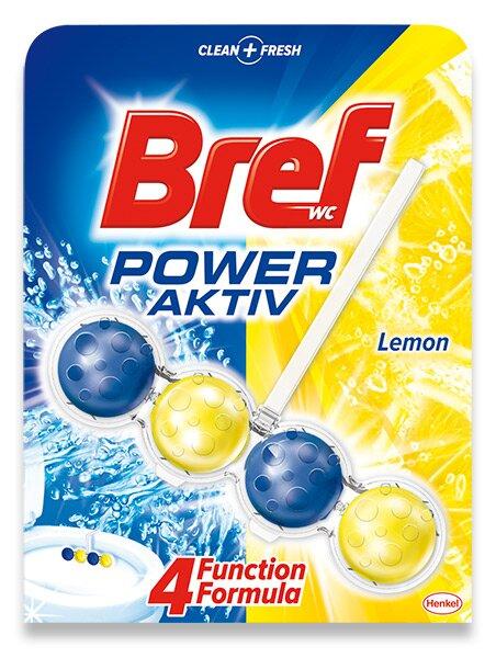 Připravek na toalety Bref Power Aktiv Lemon