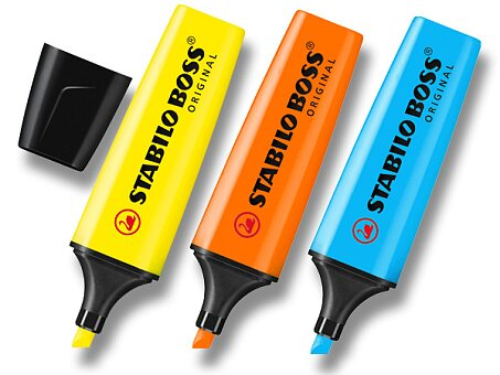 Obrázek produktu Zvýrazňovač Stabilo Boss Original - výběr barev