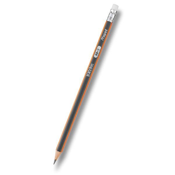 Tužka Maped Black´Peps s pryží tvrdost HB (číslo 2)