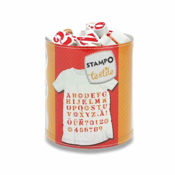 Razítka Stampo Textile - Abeceda