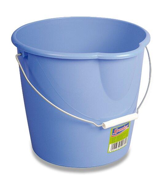 Plastový kbelík Spontex s výlevkou objem 10 litrů