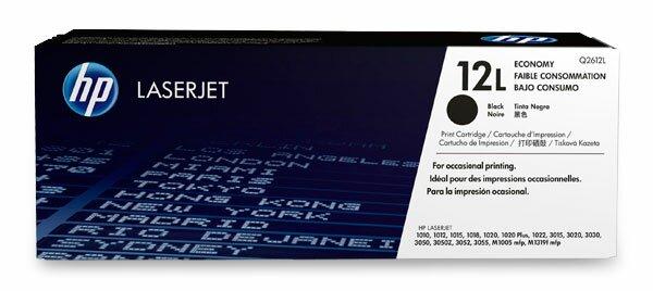 Toner HP Q2612L economy pro laserové tiskárny černý