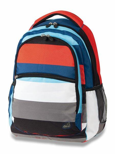 Školní batoh Walker Classic pruhovaný