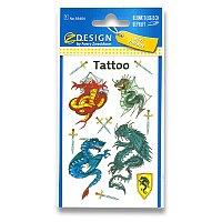 Tetování Avery - Draci