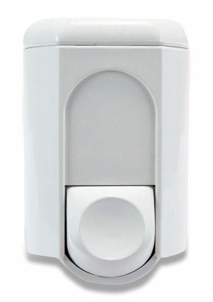 Uzamykatelný dávkovač na tekuté mýdlo střední bílý