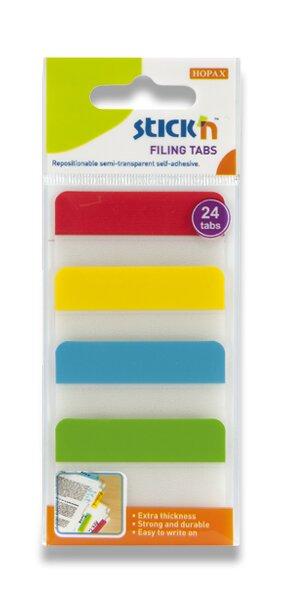 Samolepicí záložky Stick´n Clearnote 38 x 51 mm, 4 x 6 listů