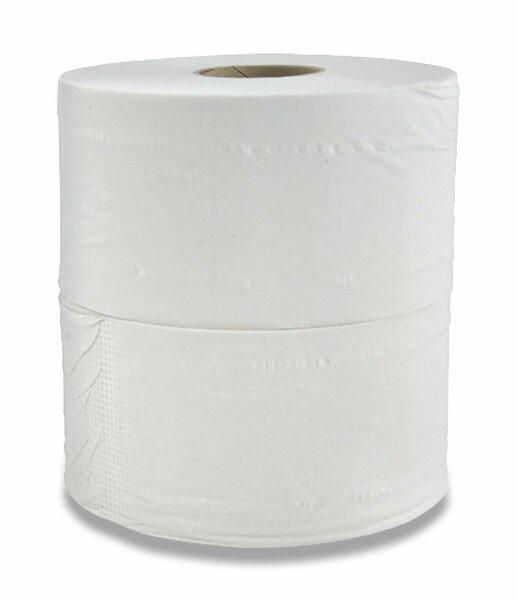 Toaletní papír Jumbo 1 - vrstvý, průměr 26 cm, návin 325 m, 6 ks