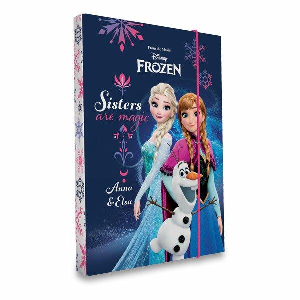 Box na sešity Frozen A5