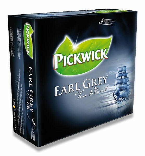 Černý čaj Pickwick Earl Grey Tea Blend 100 sáčků
