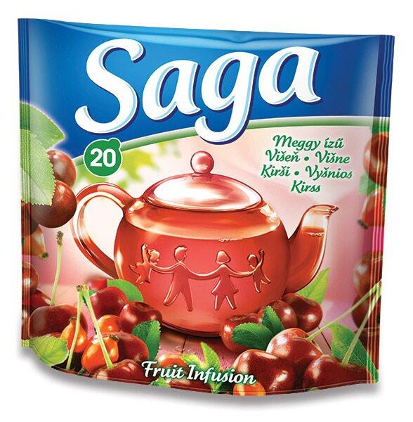 Ovocný čaj Saga Višeň 20 sáčků