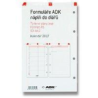 Týdenní plán levý ADK Classic 2017