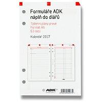 Týdenní plán pravý ADK 2017