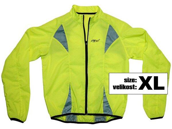 Reflexní bunda žlutá vel. XL