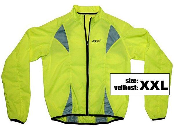 Reflexní bunda žlutá vel. XXL