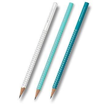 Obrázek produktu Grafitová tužka Faber-Castell - Sparkle Pastell - bílá