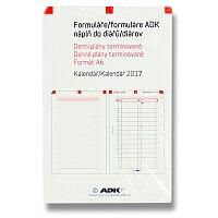 Denní plány termínované ADK 2017
