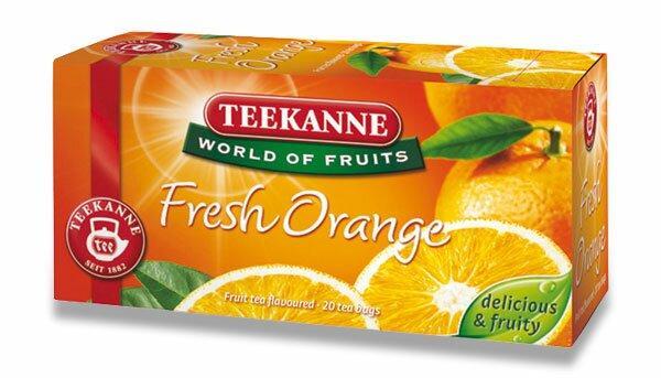 Ovocný čaj Teekanne Fresh Orange 20 sáčků
