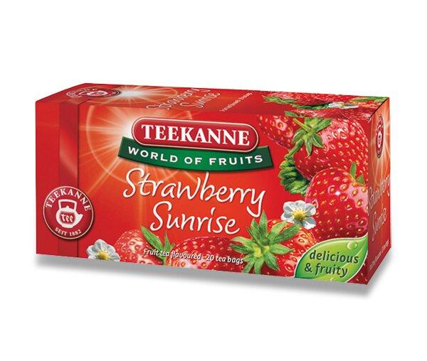 Ovocný čaj Teekanne Strawberry Sunrise 20 sáčků