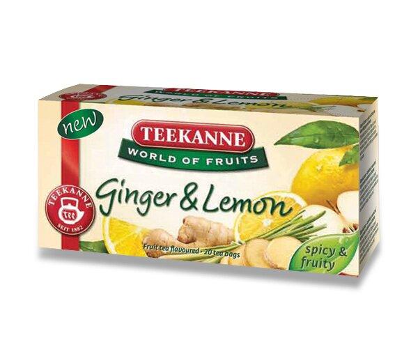 Ovocný čaj Teekanne Ginger Lemon 20 sáčků