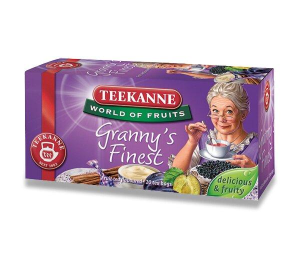Ovocný čaj Teekanne Granny s Finest 20 sáčků