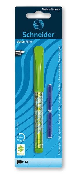 Bombičkové pero Schneider Voice mix barev