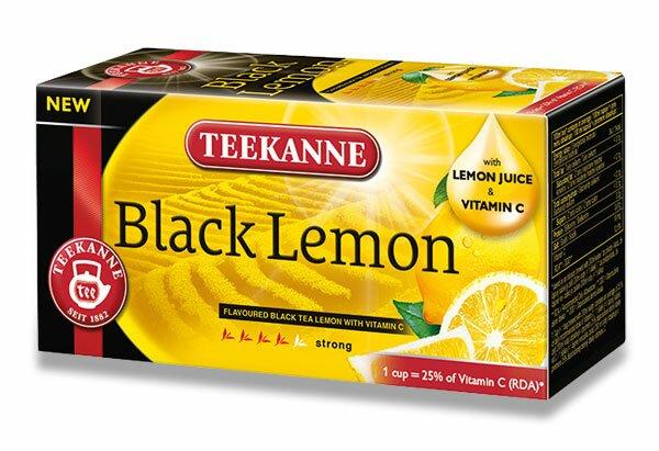 Černý čaj Teekanne Lemon Tea 20 sáčků